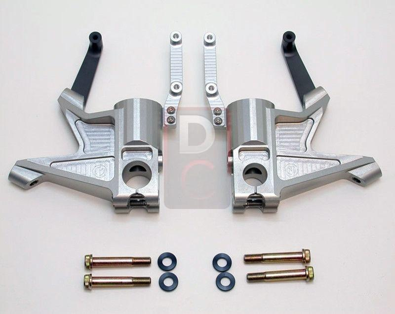 Ducati Multistrada 1100 Radial Mount Kit-Suspension & Steering Dampers-DESIGN CORSE
