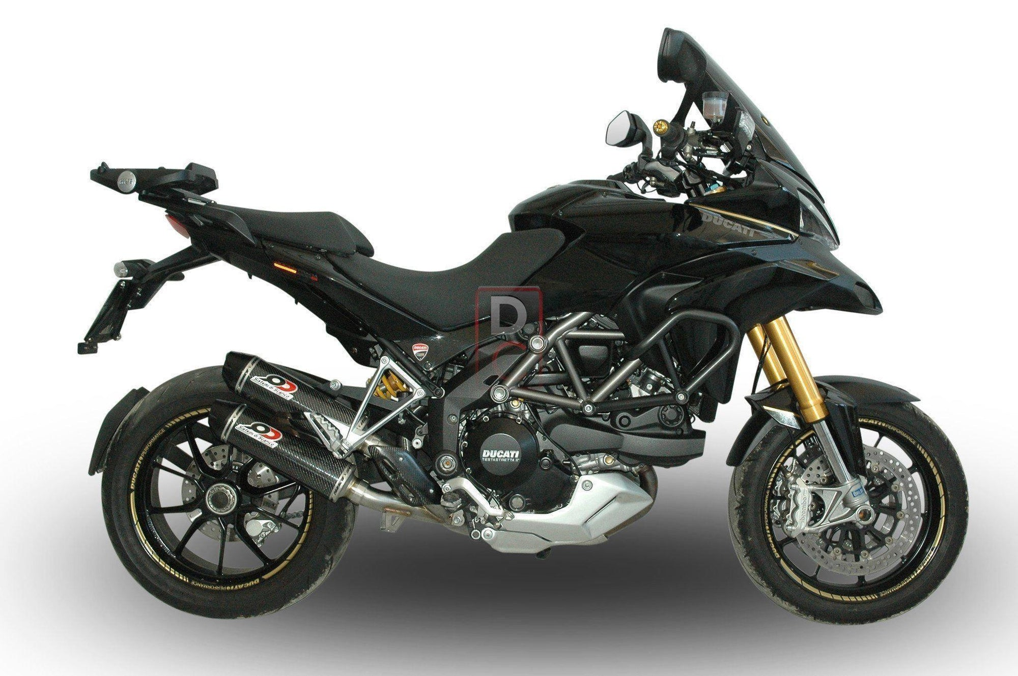 Ducati Multistrada 1200 '14 QD Exhausts Quat D