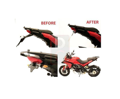 Ducati Multistrada 1200 '14 Tail Tidy R&G-Tail Tidy Fender Eliminators-DESIGN CORSE