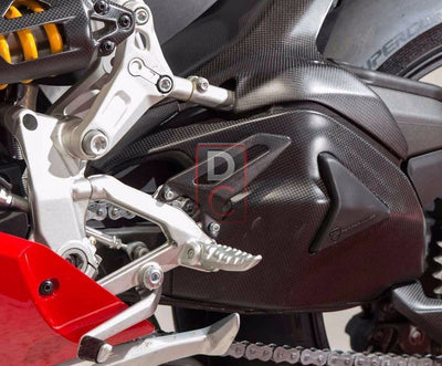 Ducati / MV Agusta Motorcycle Products - Ducati 899 1199 Carbon Heel Guards