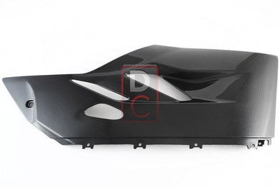 Ducati / MV Agusta Motorcycle Products - Ducati 899 1199 Carbon Lower Left Fairing MOTOCORSE