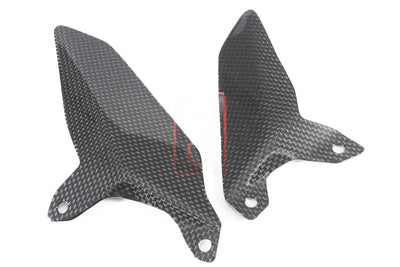 Ducati / MV Agusta Motorcycle Products - Ducati 959 1199 Carbon Heel Guards Set MOTOCORSE