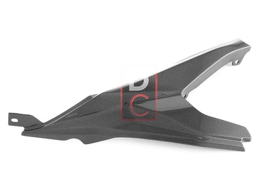 Ducati / MV Agusta Motorcycle Products - Ducati 959 899 Carbon Right Frame Guard MOTOCORSE