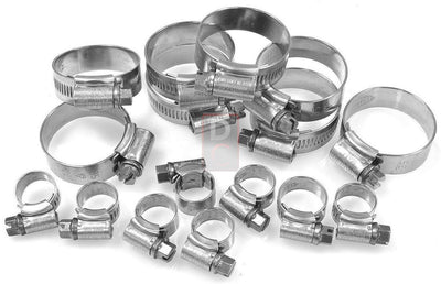 Ducati / MV Agusta Motorcycle Products - Ducati 996R 998R Samco Hose Clamps Kit