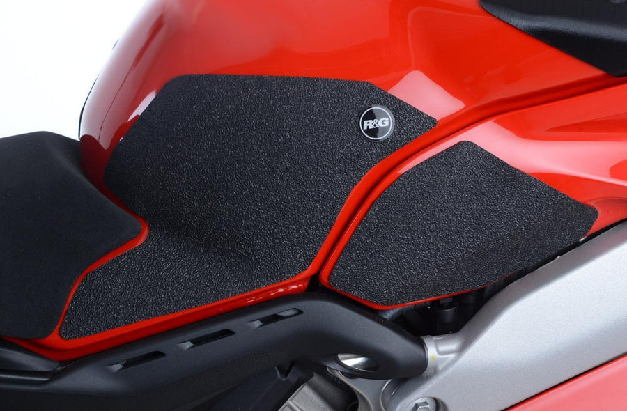 Ducati Panigale V4 Tank Traction Grips-Tank Grips Pads & Number Boards-DESIGN CORSE