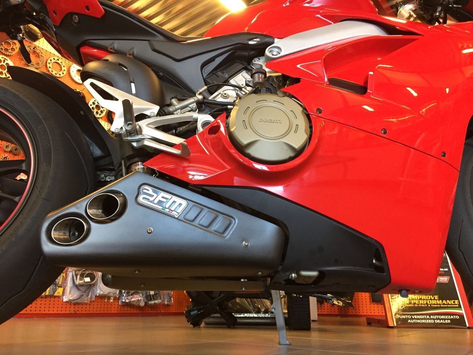 Ducati Panigale V4 FM Exhaust Underbelly Road Slip-On
