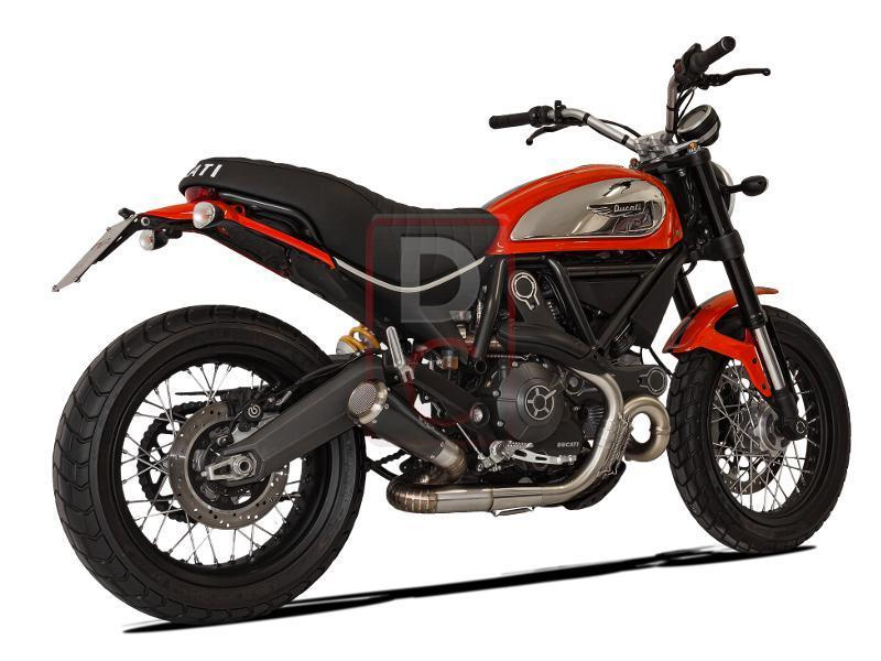 Ducati Scrambler Exhaust Low Slip On Gp07 Euro 3