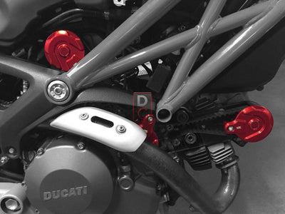 Ducati Scrambler / Monster 796 Timing Belt Pulley Covers-Alternator & Timing Covers-DESIGN CORSE