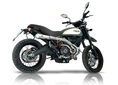 Ducati Scrambler QD Exhaust Maxcone High Level System-Exhaust Systems-DESIGN CORSE
