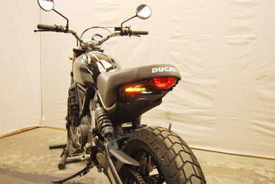 Ducati Scrambler Sixty2 Fender Eliminator Kit New Rage Cycles-Tail Tidy Fender Eliminators-DESIGN CORSE