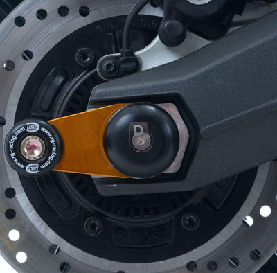 Ducati Scrambler Swingarm Protectors-Wheel Axle Sliders-DESIGN CORSE
