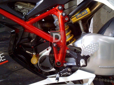 Ducati Streetfighter 1098 Frame Caps CNC Racing-Frame Plugs-DESIGN CORSE