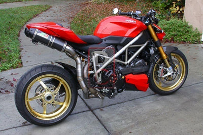 Ducati Streetfighter 848 / 1098 QD Exhaust Top Undertail-Exhaust Systems-DESIGN CORSE
