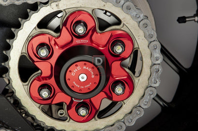 Ducati V4 Panigale / Monster 1200 Carrier Cover Flange Nuts 6 Hole-Bolts, Screws & Nuts-DESIGN CORSE