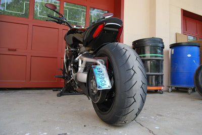 Ducati X Diavel Side Mounted Tail Tidy NRC-Tail Tidy Fender Eliminators-DESIGN CORSE