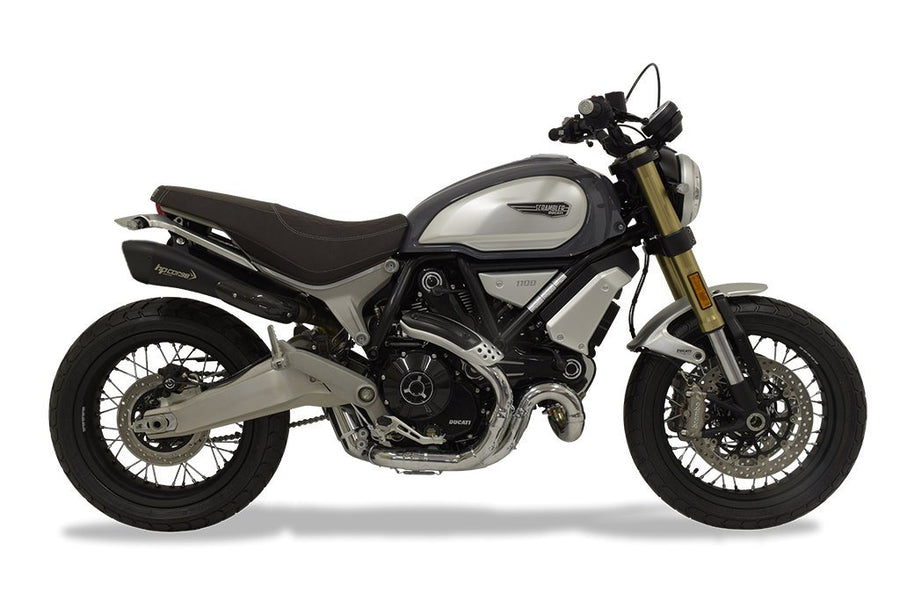 Ducati Scrambler 1100 Hydroform Short Black Slip-On Exhaust