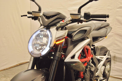 MV Agusta Brutale 800 MY16 Front LED Indicator Turn Signals NRC-Indicator Turn Signals-DESIGN CORSE