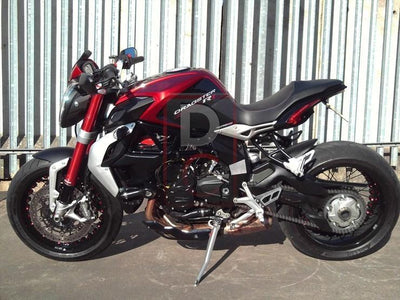 MV Agusta Dragster 800 Tail Tidy Fender Eliminator NRC-Tail Tidy Fender Eliminators-DESIGN CORSE