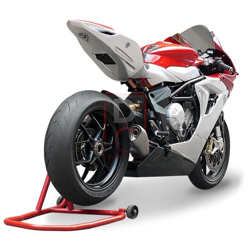 MV Agusta F3 675 / 800 Exhaust Slip on Hydroform-Exhaust Systems-DESIGN CORSE