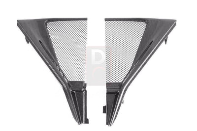MV Agusta F3 800 Carbon Radiator Cover MOTOCORSE-Radiators & Cooler Guards-DESIGN CORSE