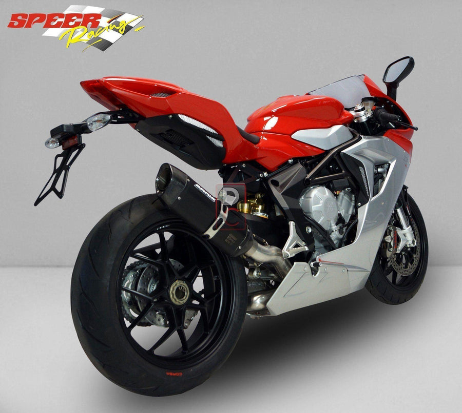 MV Agusta F3 Bodis Exhaust P TEC II-Exhaust Systems-DESIGN CORSE