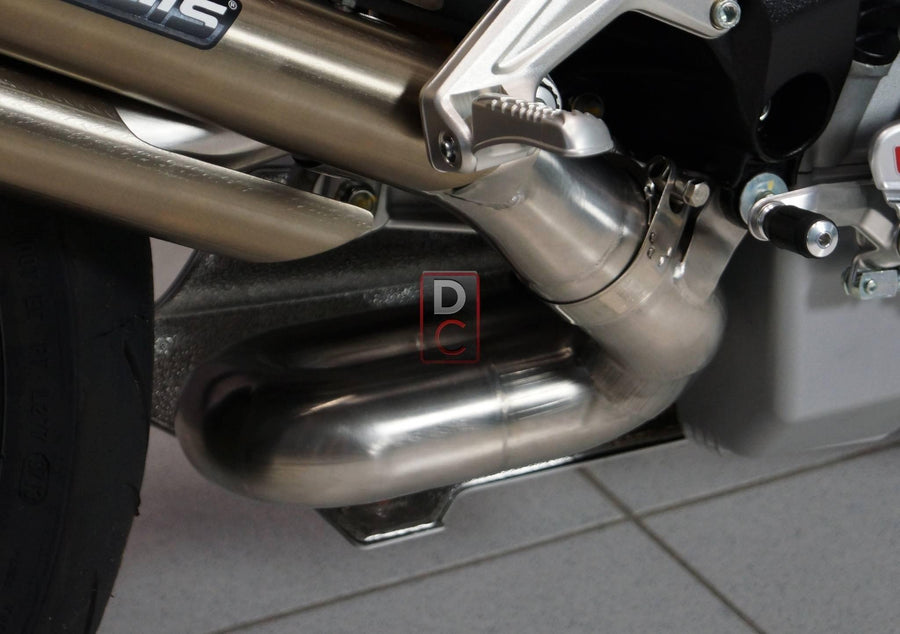 MV Agusta F3 Exhaust Triobolico Link Pipe-Exhaust Systems-DESIGN CORSE