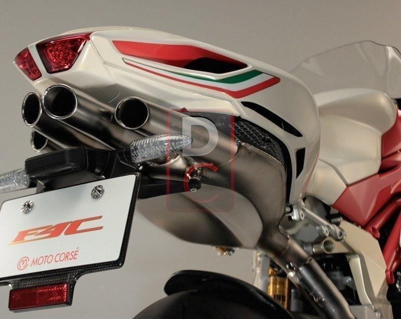 MV Agusta F4 1000 MY10 Titanium Exhaust Full System MOTOCORSE-Exhaust Systems-DESIGN CORSE