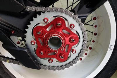 MV Agusta Rear Sprocket Carrier Cover Flange-Sprocket Carriers & Covers-DESIGN CORSE