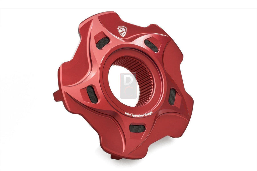 MV Agusta Sprocket Carrier Cover Flange Carbon Inlay-Sprocket Carriers & Covers-DESIGN CORSE