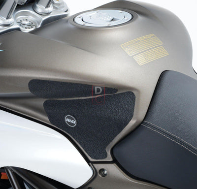 MV Agusta Turismo 800 Traction Tank Grips R&G-Tank Grips Pads & Number Boards-DESIGN CORSE