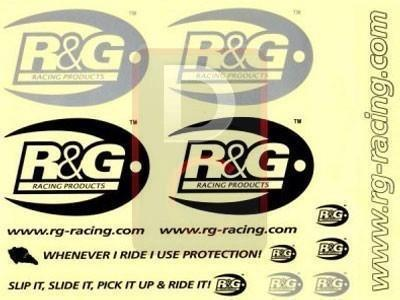 R&G Racing Sticker High Quality Set-Decals, Stickers & Apparels-DESIGN CORSE