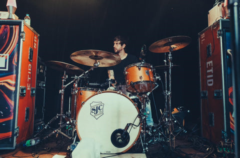 "SJC Custom Drums Clayton ""Goose"" Holyoak on Tour Series Kit"