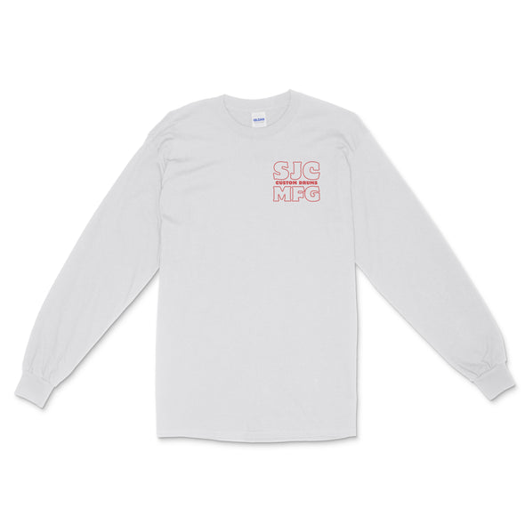 SJC Manufacturing Long Sleeve - White