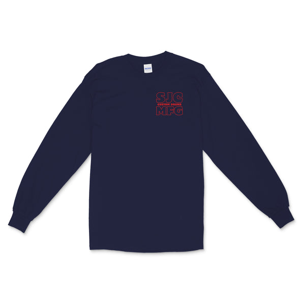 SJC Manufacturing Long Sleeve - Navy