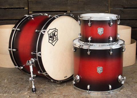 3 PC Red Burst Kit