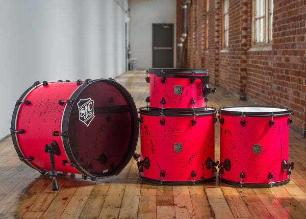 Neon Pink 4pc Maple Kit (#513)