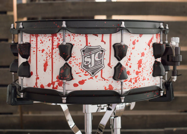 Frank Zummo/Blood Drums - 6x14 Custom Snare