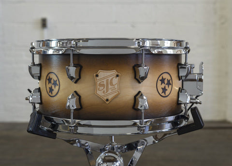 "Custom 6.5x13"" Birch Snare with Nashville Stars!"