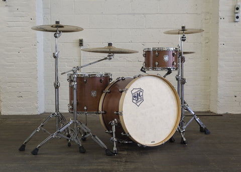 "Custom 3pc Mahogany Kit! 24"" Kick!"