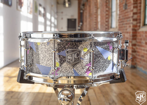 5.5x14 M5 Maple Snare -80's Print with Chrome Hardware