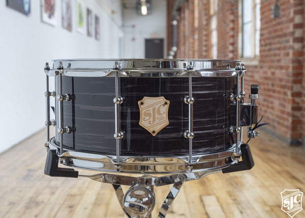 6.5x14 M5 Maple Snare - Black Oyster with Chrome Hardware