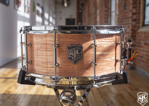 6.5x14 M5 Maple Snare - Mango Ripple with Chrome Hardware