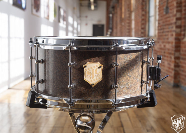 6.5x14 M5 Maple Snare - Brown Marble with Chrome Hardware *USED*
