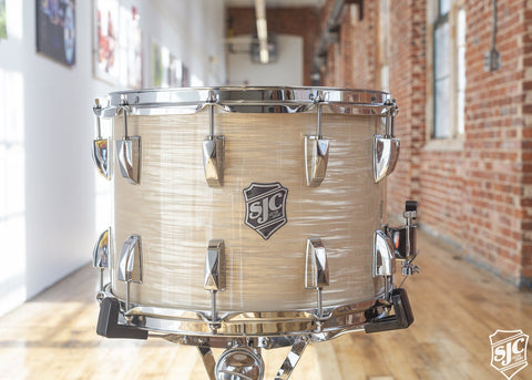 10x14 Maple Snare - Brown Ripple with Chrome Hardware