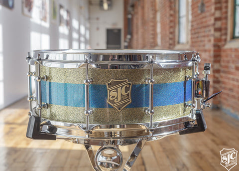 5.5x14 Maple Snare - Paint finish stripe