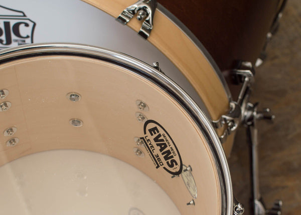 SJC Custom Drums USA Custom Drum Kit Maple Walnut Satin Stain