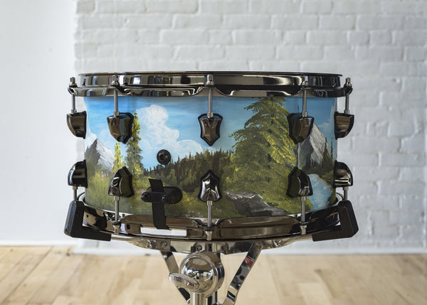 NAMM '19 - Bob Ross Inspired Snare