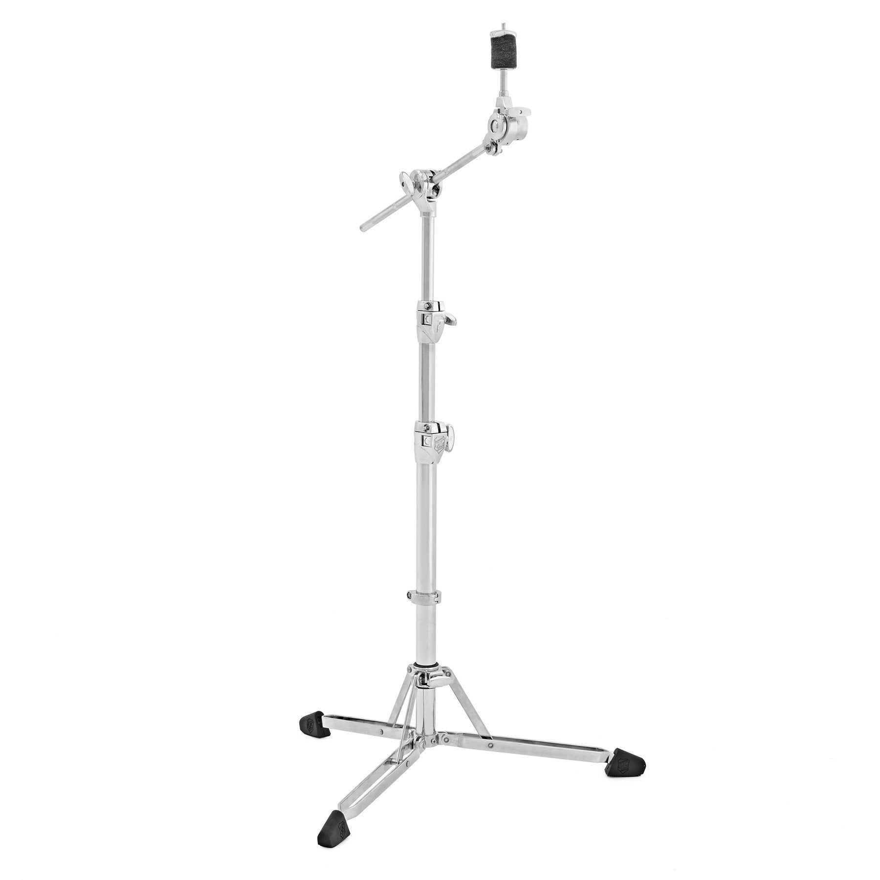 SJC Custom Drums Heavy Duty Double Braced Foundation Hardware Flatline Boom Cymbal Stand