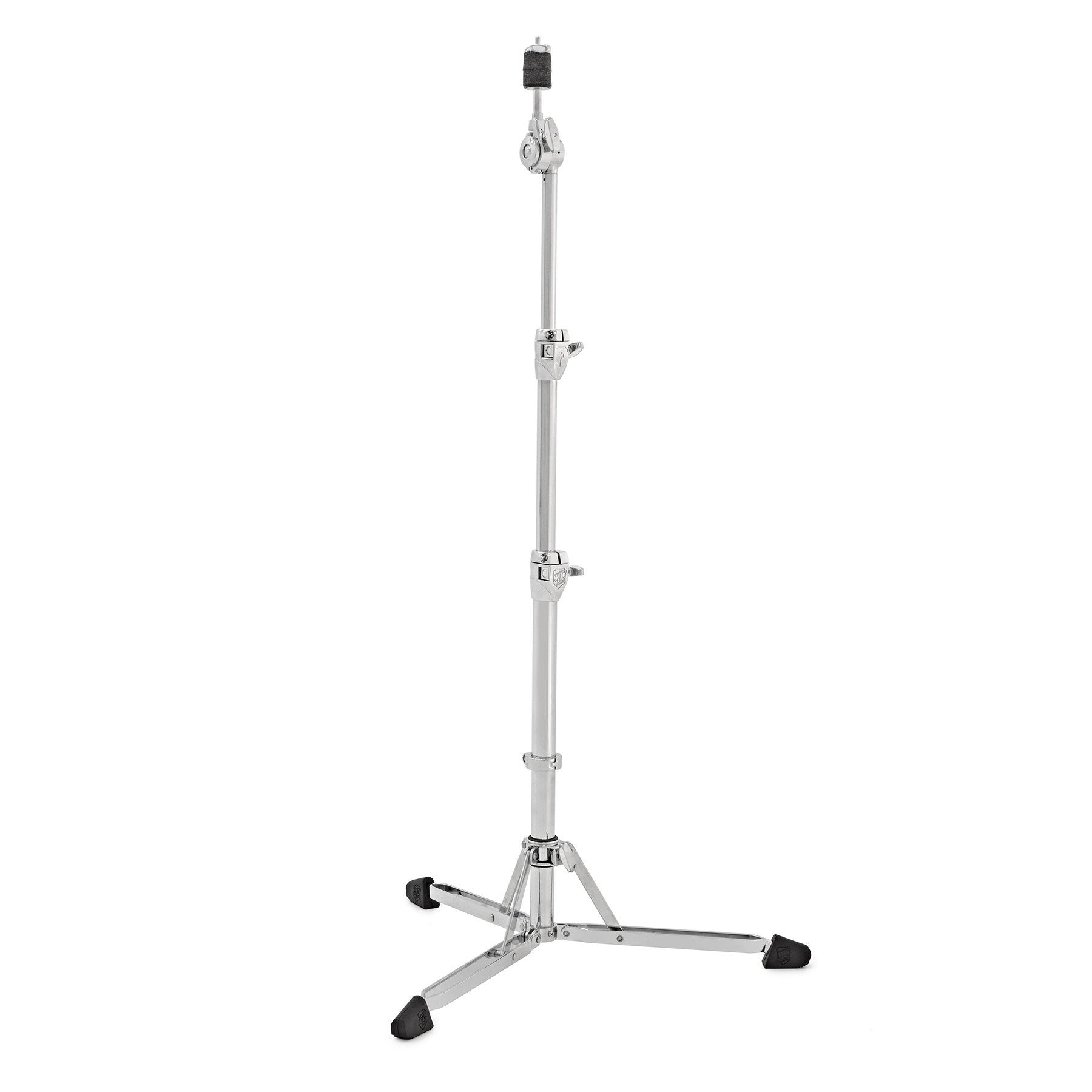 SJC Custom Drums Heavy Duty Double Braced Foundation Hardware Flatline Straight Cymbal Stand