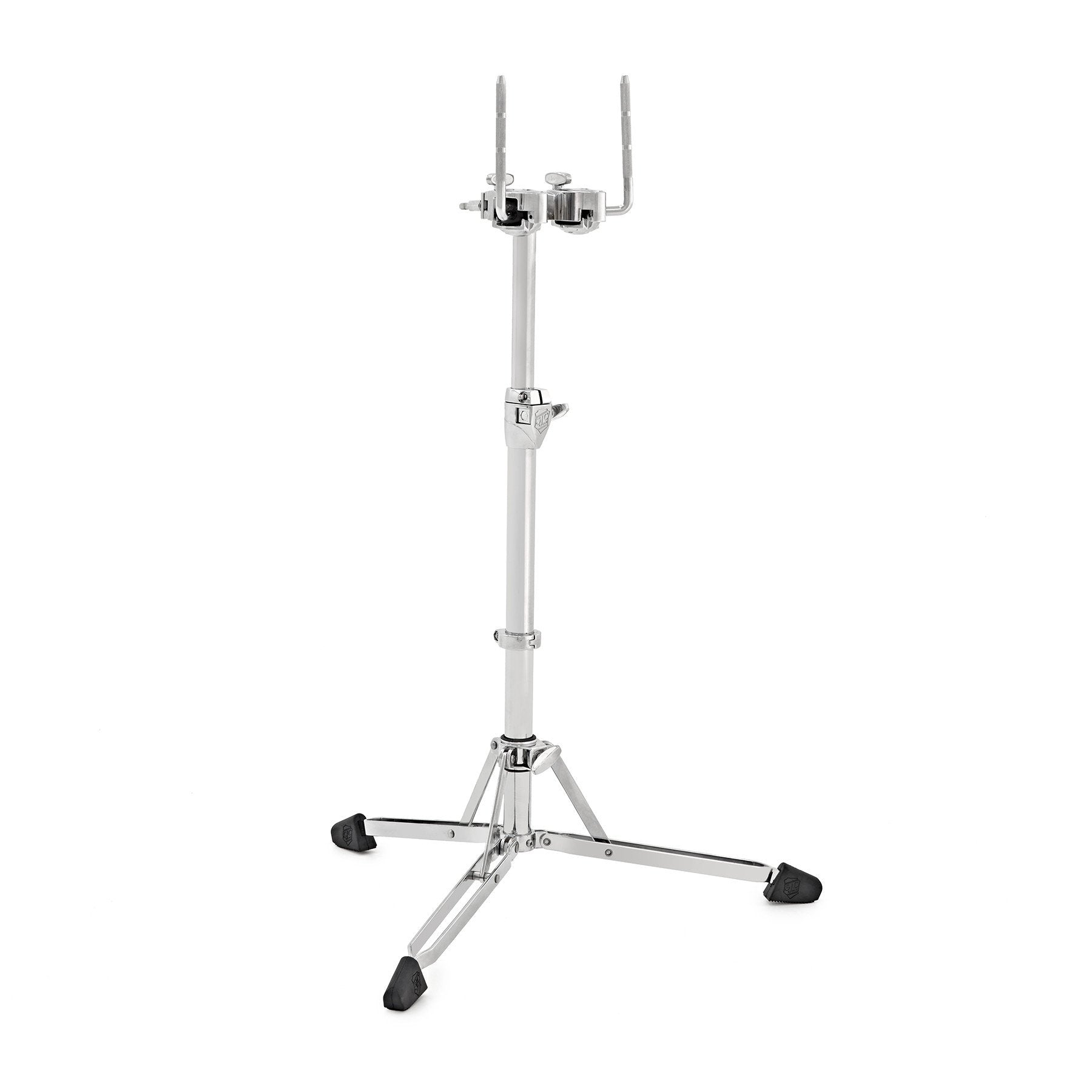 SJC Custom Drums Heavy Duty Double Braced Foundation Hardware Flatline Double Tom Stand